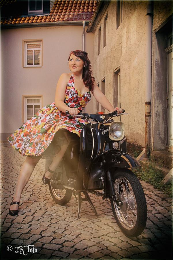 Vintage 50s Style Ewige Momente