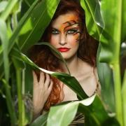 Model: Lizzy Foxx, MUA: Susi Kinzki